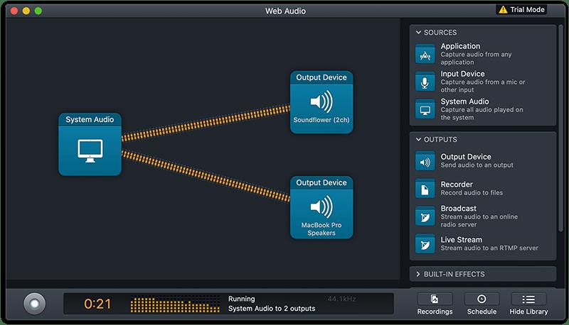 Audio Hijack Setup