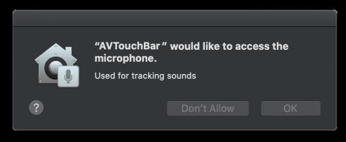 Audio Permission